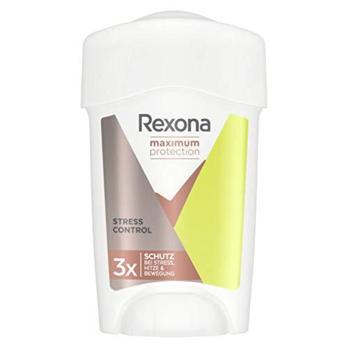 Rexona Maximum Protection Anti-Transpirant Cremestick für langanhaltende Frische Sensitive Dry, 96-Stunden-Schutz (1 x 45 ml)
