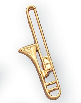 Trombone Lapel Pin of -Pack 12 Limited Limited Special Price time cheap sale