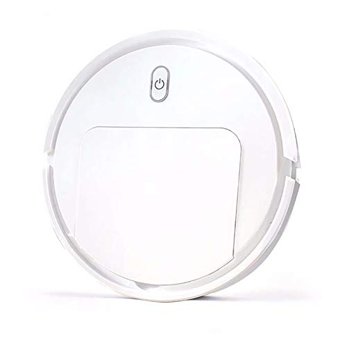 JiaHan Vacuum Cleaner Robot 3-in-1, Quiet, Powerful Cleaning, Long Running Time, Super-Thin, Best for Pet Hair, Hard Floor and Large Carpet, Multiple Cleaning Modes, Small Gift. White