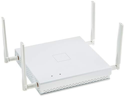 LANCOM LX-6402 (EU) WiFi-6 Access Point mit bis zu 2400 MBit/s, 4 flexible Rundstrahl-Antennen, PoE (IEEE 802.3at), Dual Concurrent WLAN (2,4 & 5 GHz) 4x4 MU-MIMO, 2,5 Gigabit Ethernet-PoE-Port, Weiß