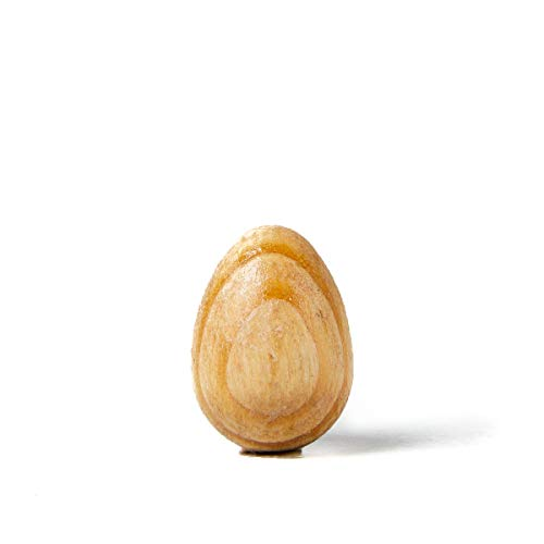 Orijin Design Co. All Natural Meditation, Mindfulness & Focus Tool. The Thinking Egg. Natural Pine Wood