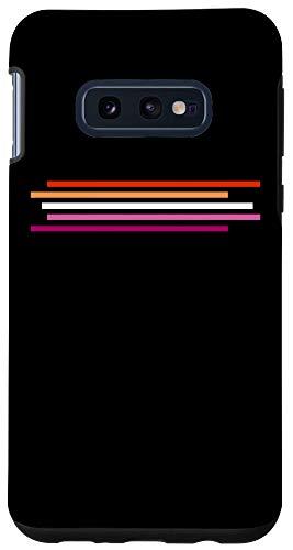 Galaxy S10e Lesbian Flag Pride Phone Case