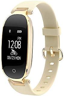 LVYE1 MRMF Pulsera Actividad Inteligente Mujer,Fitness Tracker,Pulsera Monitor de Actividad,Relojes Inteligentes de Pantalla Color,Reloj Actividad Monitor Pulsómetro,Sueño,Calorías,para Android e iOS