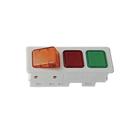 Leuchten Schalterkombination Schalter Knopf Leuchte ORIGINAL Liebherr 6071877 Gefriertruhe Kühlschrank