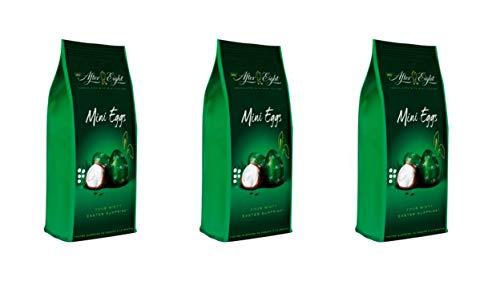 After Eight Ovetti di cioccolato fondente ripieni di cioccolato bianco alla menta 153gr Perugina Novità Cioccolata Pasqua (3 CONFEZIONI)