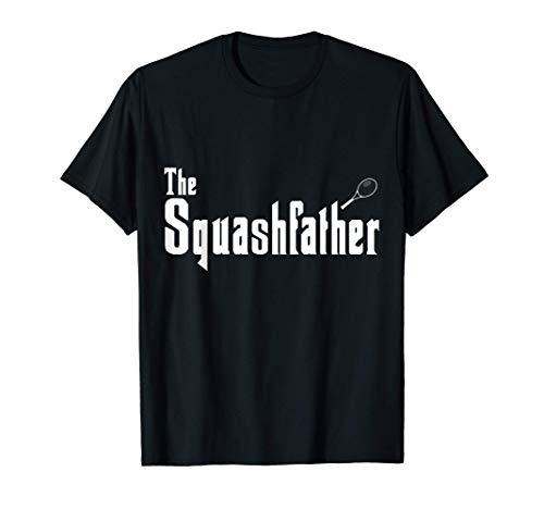 The Squashfather - Squash Spieler und Squash Schläger T-Shirt