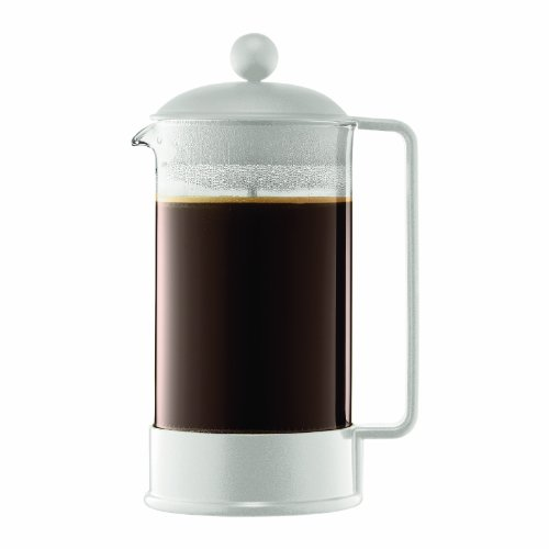 Bodum Brazil 8-cup French Press Coffee Maker 1-Liter Infradito colorati estivi, con finte perline