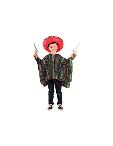 DISBACANAL Poncho Mexicano Infantil - -, 10 años