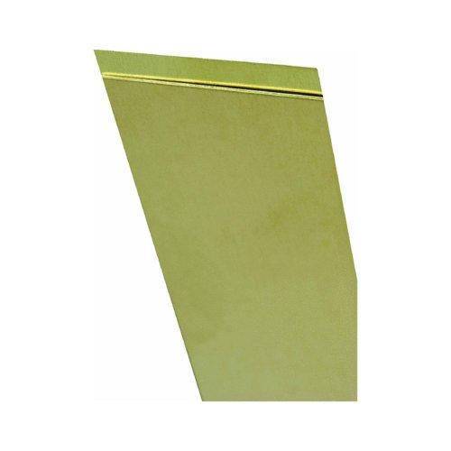 K & S Engineering Brass Sheet Metal .032 x 4 x 10 In K & S