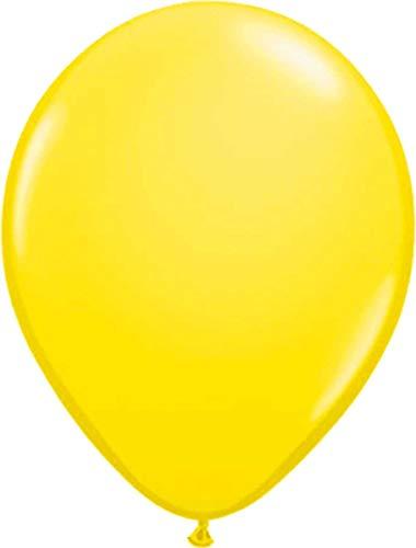 Folat 08101 Gelbe Ballons 30cm-100 Stück