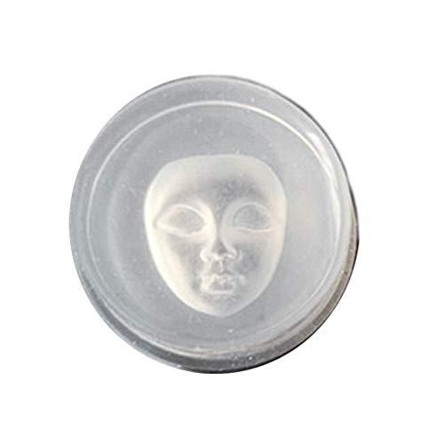 Yunso - Molde de resina de silicona para hacer velas y manualidades