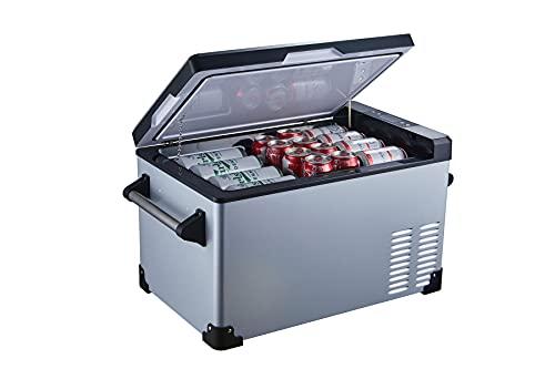 Portable Refrigerator Fridge Freezer for car, Boat, RV, Camping, Roadtrip, Outdoor Recreation (32-Quart)