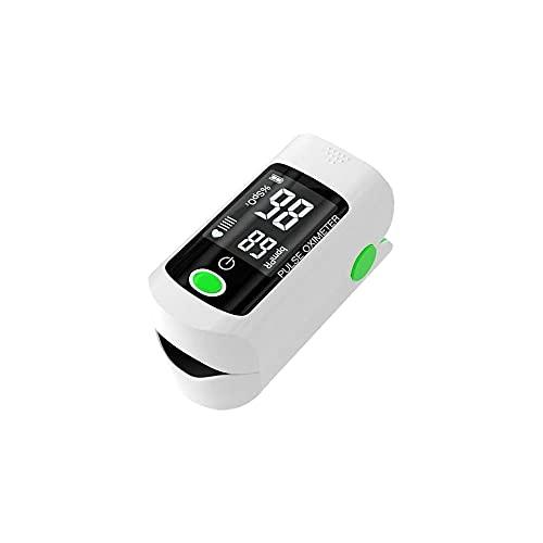 YANWA Digital Finger Oximeter, Blood Oxygen Saturation Pulse Oximeter Spo2 Pr Heart Rate Monitor, Family Essential Portable Measurement