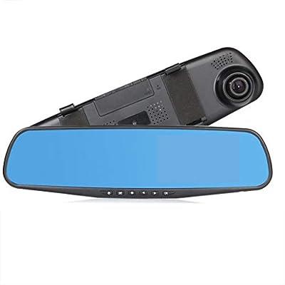 XIANWEI Car Driving Recorder,Full HD Car Camera,Full HD 1080P 4.3 Inch IPS Screen Driving Recorder,Double Lens Sprint Camera by XIANWEI