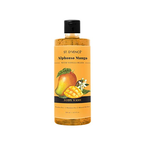 ST. D'VENCE Alphonso Mango Body Wash With Vanilla Beans (500 Ml), 500...