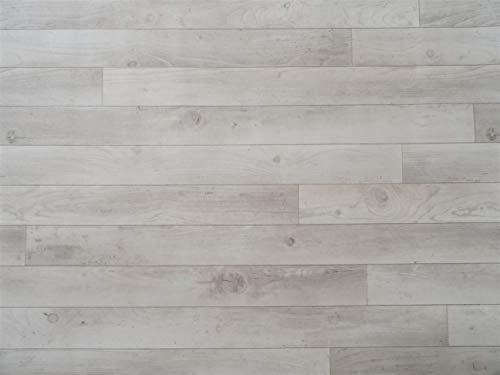 PVC Bodenbelag in rustikalem Holz (9,95€/m²), Zuschnitt (2m breit, 5m lang)