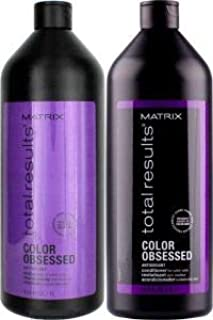Matrix Total Results Color Obsessed Antioxidant Shampoo & Conditioner liters