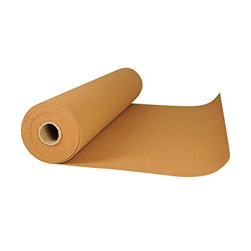 acerto 16089 Korkrolle zur Trittschalldämmung - 10m x 6mm * Wärmeisolierend * Hochelastisch * Schadstofffreier Rollkork | Rollenkork als Dämmunterlage, Parkett-Unterlage, Laminat-Unterlage