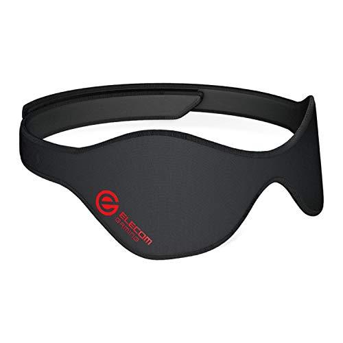 エレコム アイマスク ゲーミング向け 温熱治療用 ブラック HCM-G01BK