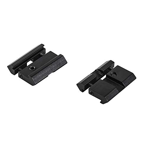 WestHunter Scope Mount Rail Adjustable Adapter,20mm Picatinny to 11mm Dovetail Hunting Accessories with Stop-pin for Optical Riflescope