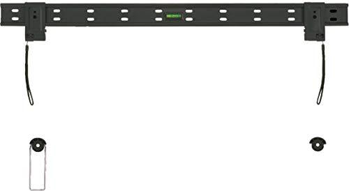 SCHWAIGER LWH3263 011 TV-Wandhalterung für Flachbildschirme mit 107-178 cm (42-70 Zoll), Halterung für LCD LED TFT Plasma, max. Belastung 50 kg, schwarz