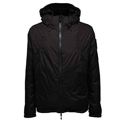 OUTHERE 9393AB Giubbotto uomo Piumino Black Jacket Men