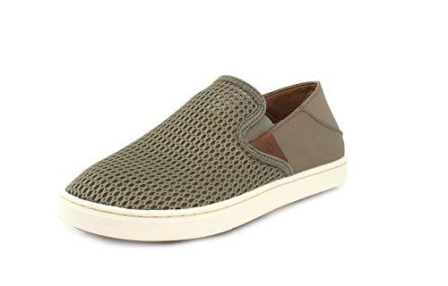 OLUKAI Women's Pehuea Slip On Shoes, Clay/Clay, 10