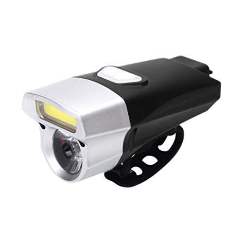 Linterna para Bicicleta, Ciclismo, Faro, 350 lúmenes, Luces Delanteras para Bicicleta, conducción Nocturna, MTB, lámpara para Bicicleta de Carretera, Reflector USB