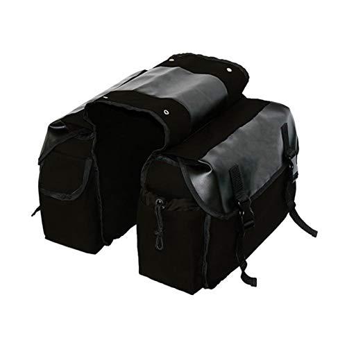 WJY Motorcycle Saddle Bag Bolsa de Sillín de Moto, Alforjas de Lona para Motocicleta Alforjas Impermeables Universal Motorcycle Saddle Bag, Motorcycle Tool Bag, para Touring Motorcycle Box