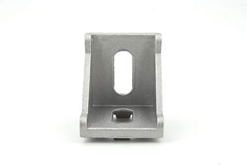 30pcs 20/30/40 T-Slot L Shape Profile Right Brace Corner Aluminum Angle Bracket (4040-404035mm)