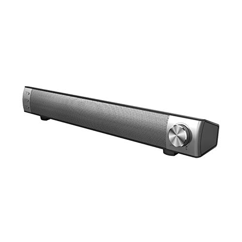 Sdesign Wireless Portable Home Theater Bluetooth Speaker Audio Surround Sound Bar for TV, PC, Cell Phone, Tablets Projector or Wireless Devices
