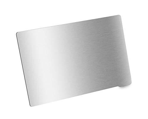 SANKUAI Feuille d'acier à Ressort 1pc Plaque de Construction Flexible 202x128mm pour l'impression de résine Base magnétique Flex Chauffé Chauffé Chauffé Anycubic Photon Imprimante 3D