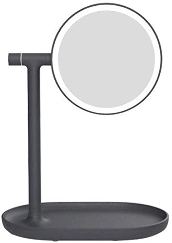 Modern Creativity Makeup Mirror Vanity Mirror With Lights For Makeup, Dressing Table Mirror With Led Lights Desktop Storage Perfect Birthday Present For Girl Kids, Suitable for Various Occasions