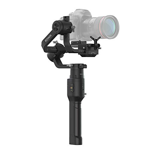 DJI Ronin-S Essentials Kit - Camera Stabilizer 3-Axis Gimbal Handheld for DSLR Mirrorless Cameras up to 8lbs / 3.6kg Payload for Sony Nikon Canon Panasonic Lumix, Black