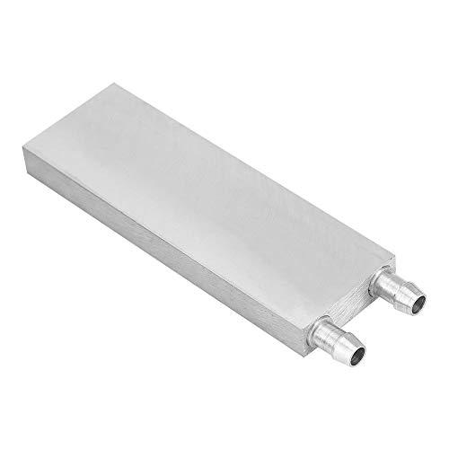 Aluminium waterkoelblok, CPU waterkoelsysteem voor pc Computergrafiek Heatsink endotherme kop (40 * 80 * 12 mm)