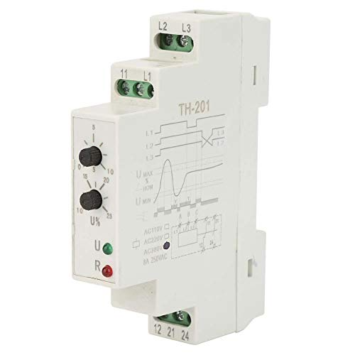 380V Three Phase Voltage Monitoring Relay, Power Protection Relay Three Phase Sequence Control Relays Voltage Monitor