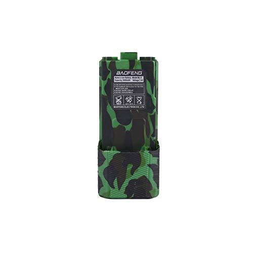 JIUY UV-5R BL-5L 7.4V 3800mAh Li-Ion Original Alta Capacidad de la batería para Baofeng walkie Talkie UV-5R Serie Radio de Dos vías (Camuflaje)