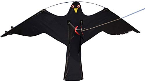 Kite Bird Repeller Eagle Kite Kit 2X # 2 Grand Hawk Kite Bird Scarer Protéger Farmer Crop Windsock Épouvantail Jouet