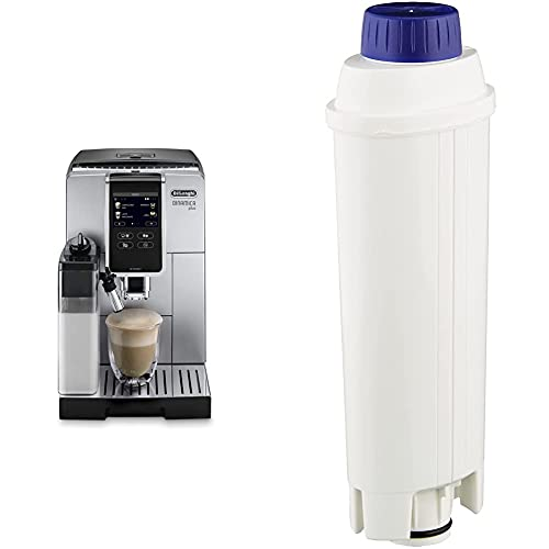 De Longhi Ecam 370.85.Sb Macchina Da Caffè Automatica Dinamica & Dlsc002 Filtro Per Acqua Macchina Caffè, Filtro Acqua Addolcitore