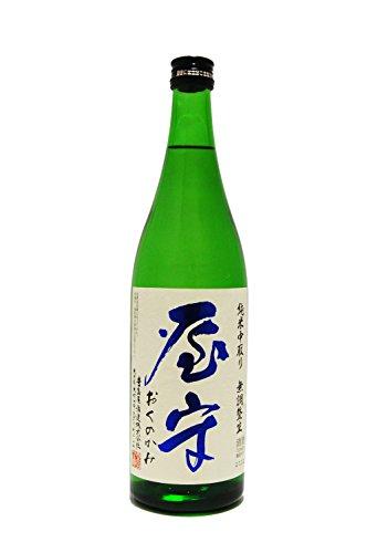 屋守(おくのかみ)純米 中取り 無調整 生 720ml