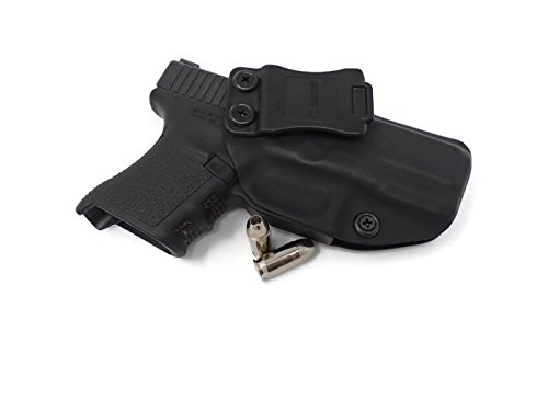 Badger Concealment Kydex IWB Holster Compatible with Glock 43X (Appendix Left Hand Draw)