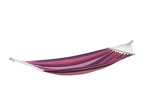 AMAZONAS Stabhängematte wetterfest UV-beständig Tonga Candy 200cm x 100cm bis 120kg buntgestreift