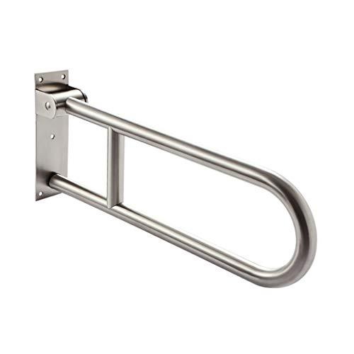 XIN 304 Balustrade De Toilette Se Pliante D'acier Inoxydable Accessible Handicapé Manipulent La Poignée De Salle De Bains 62cm