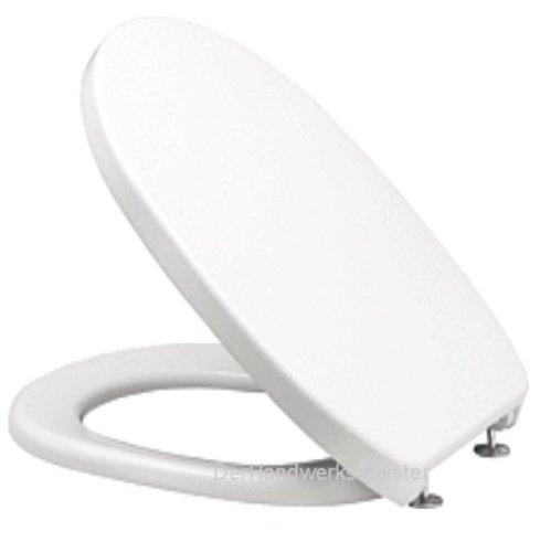 Twist WC Sitz / Deckel mit Edelstahlscharnier aus Duroplast