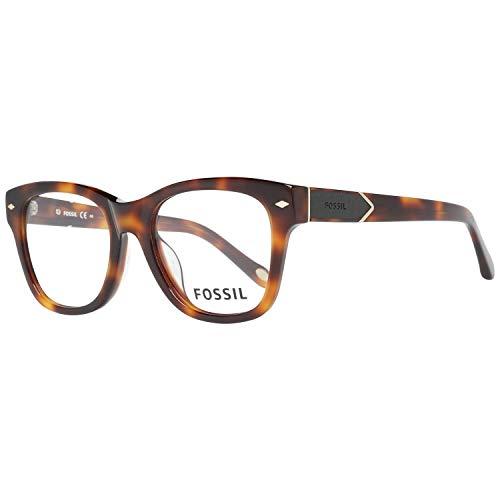 Fossil Brillengestelle FOS 6081/F Rechteckig Brillengestelle 51, Mehrfarbig