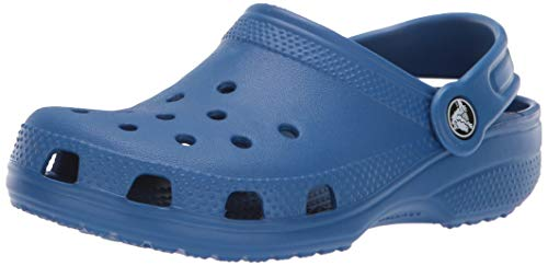 Crocs Classic Clog Kids Roomy fit, Zuecos Unisex niños, Azul (Blue Jean 4gx), 28/29 EU