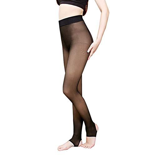 Ahomi herfst-winter-vrouwen warme sterke dunne panty panty kousen (stap voet)
