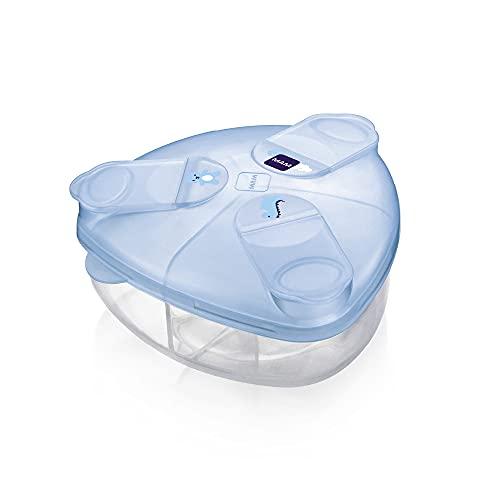 MAM Dosificador Milk Powder Box A141 - Dispensador De Leche En Polvo, Azul