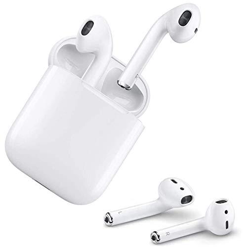 écouteurs sans Fil Bluetooth 5.0 avec réduction de Bruit, écouteurs Sportifs avec IPX7 écouteurs stéréo étanches dans l'oreille Intégré HD Mic Casques pour iPhone Android/Airpods/Samsung