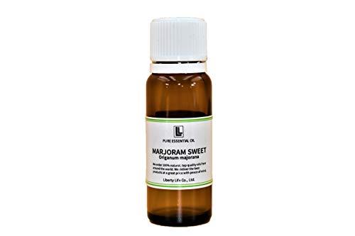 アロマオイル マジョラムスイート 精油 エッセンシャルオイル 天然100% (20ml)